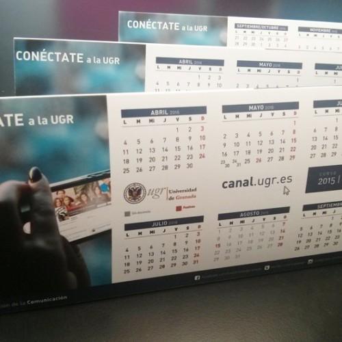 Calendarios UGR